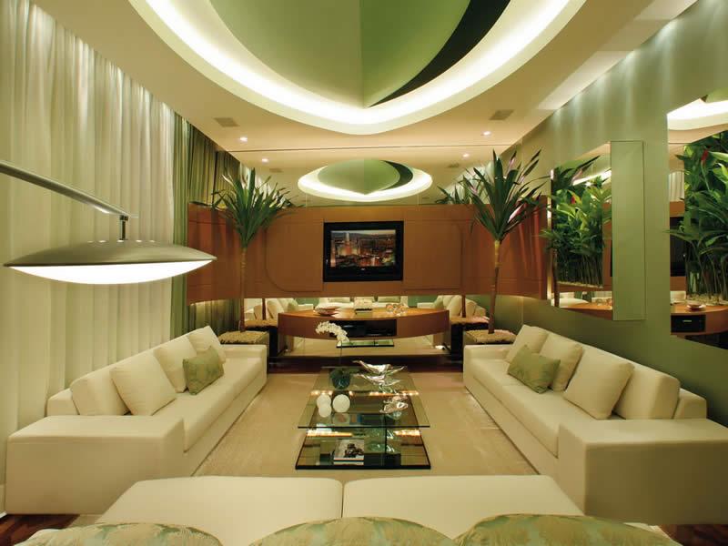 green room lighting design